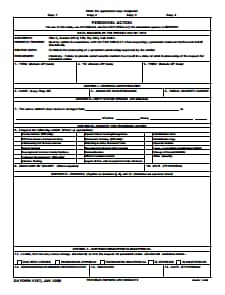 DA Form 4187 : Free Download, Edit, Fill, Create, Sign and Print