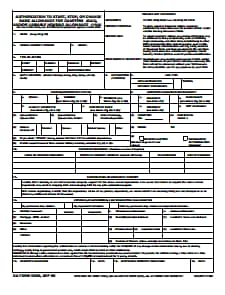 DA Form 5960: Free Download, Create, Edit, Fill and Print