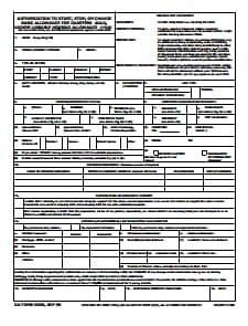 DA Form 5960: Free Download, Create, Edit, Fill and Print
