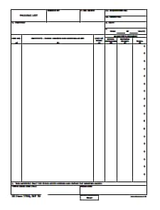 DD Form 1750: Free Download, Create, Edit, Fill and Print