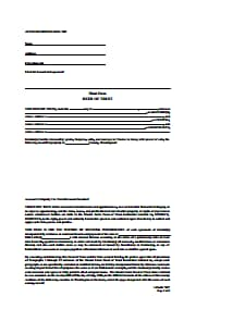 Deed Of Trust Form- Free Download, Create, Edit, Fill and Print