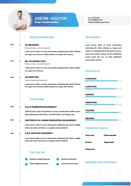 Resume Template - Dynamic Youth