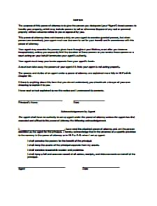 General Power of Attorney Form: Download, Edit, Fill, Print, Create