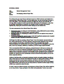 Internal Memo Template: Free Download, Create, Edit, Fill and Print