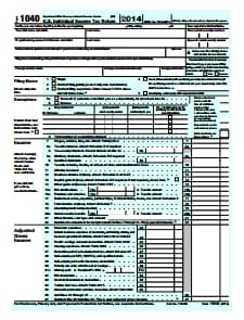 IRS 1040 Form  -  Download, Create, Edit, Fill and Print