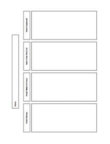 KWL Chart Template : Free Download, Create, Edit, Fill and Print