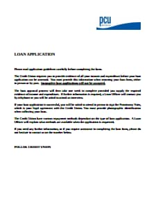 Loan Application Form: Free Download, Create, Edit, Fill and Print