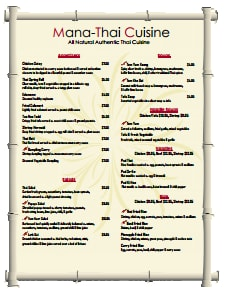 Restaurant Menu Template: Free Download, Create, Edit, Fill and Print