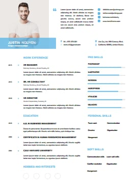 Resume Template - Soft Cloud