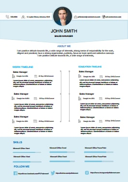 Resume Template - Timeless Lite