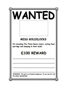 Wanted Poster Template: Free Download, Create, Edit, Fill and Print