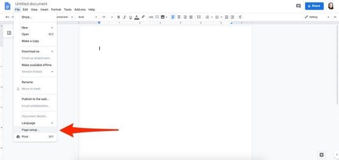 make a timeline on google docs