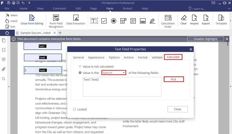 как конвертировать pdf форму в заполняемую форму
