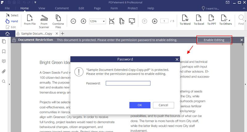 Wie Sie den Passwortschutz von PDFs entfernen