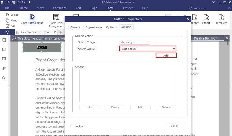 конвертировать pdf в заполняемую форму без acrobat