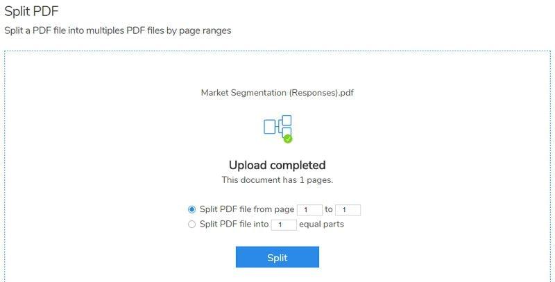 split pdf into separate files
