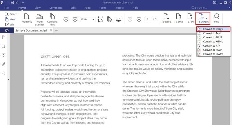 como inserir pdf imagem para word