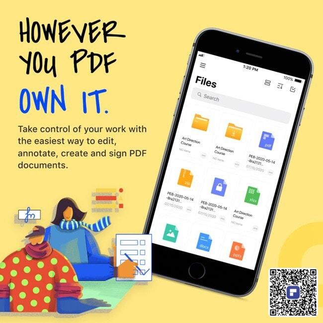 pdf editor for iphone ipad