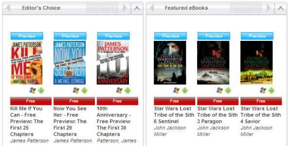 sitios web para descargar ebooks para nook