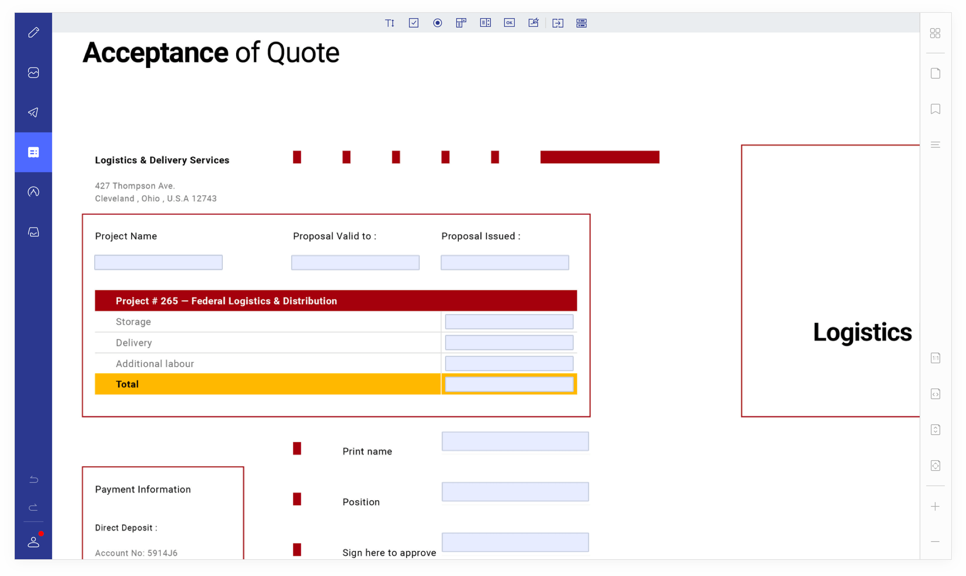 Edit Forms