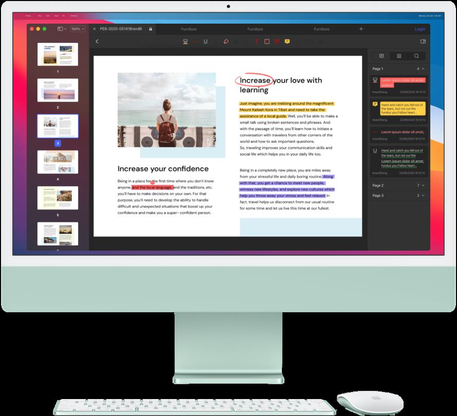 pdf writer for mac