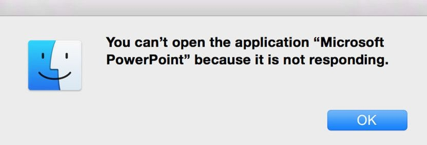 how to open powerpoint on macos 10.14