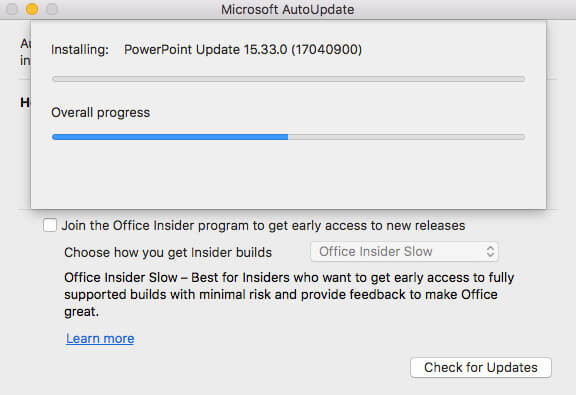 how to make a powerpoint on macos 10.14