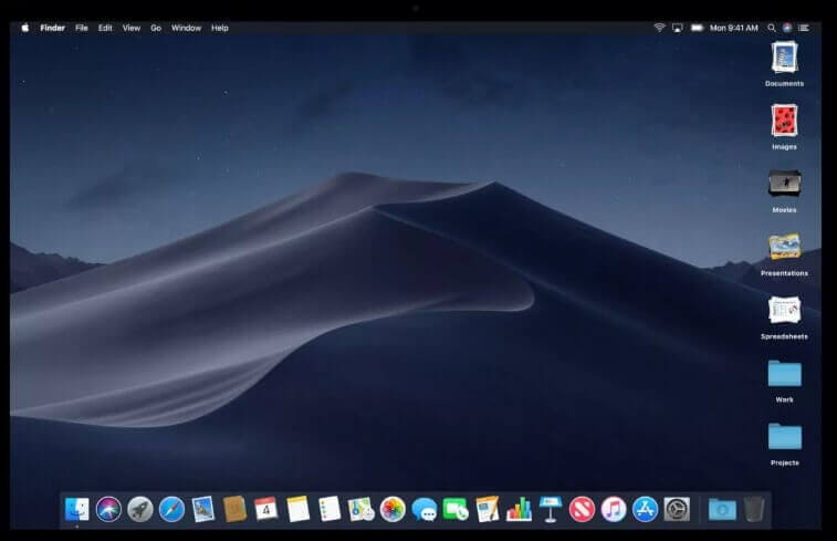 get macos Mojave features on windows