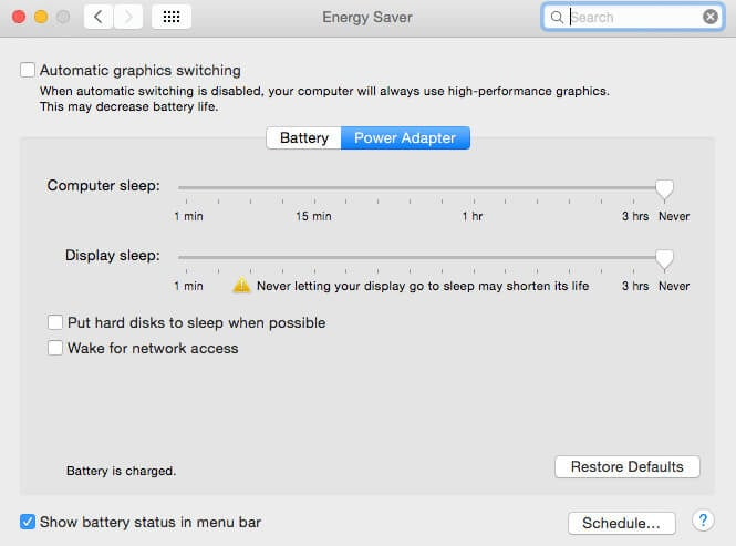 fix your mac not waking from sleep on macos 10.14
