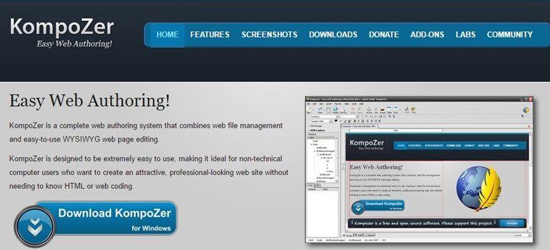 editor html wysiwyg gratis per macos 10.14