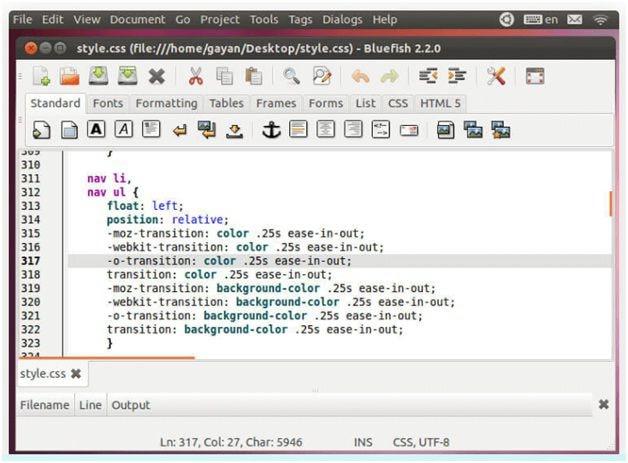 bluefish editor macos 10.15