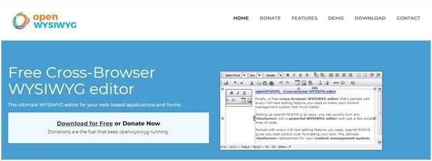 OpenWYSIWYG macos 10.15
