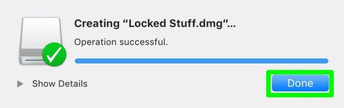 password protect folder mac without disk utility