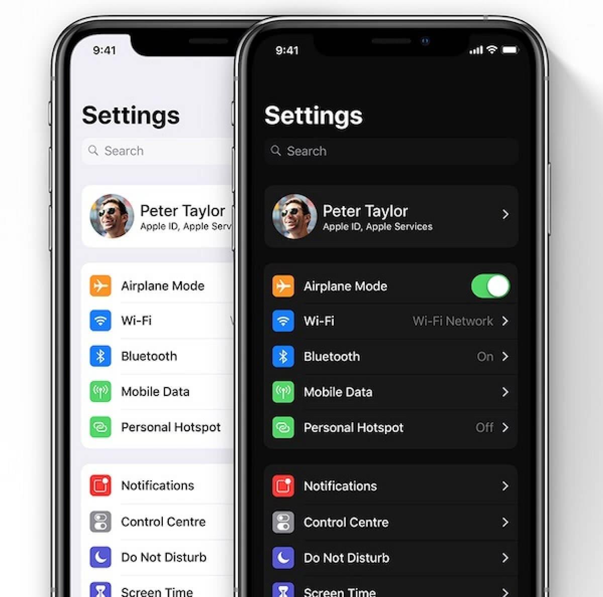 Vergleich von iOS 13 und iOS 12