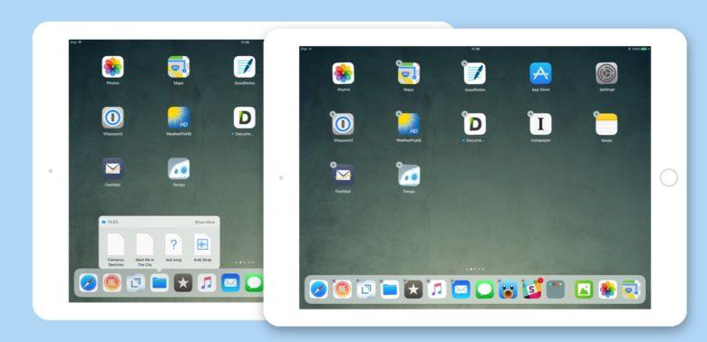comparison of iOS 13 vs iOS 12