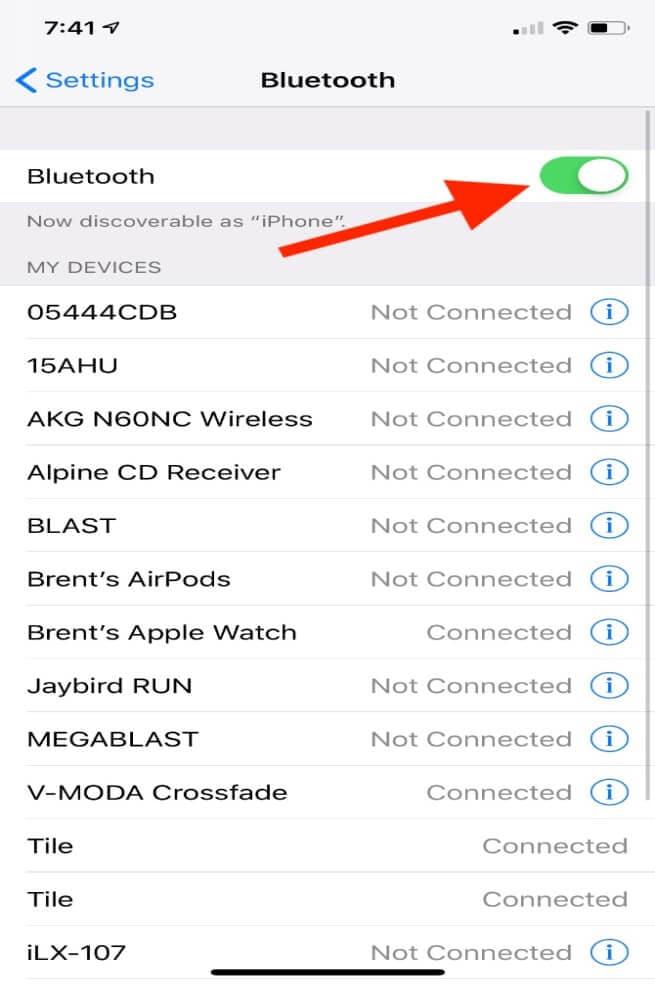 bluetooth probleme beheben