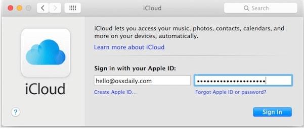 switch an apple id on mac os 10.15