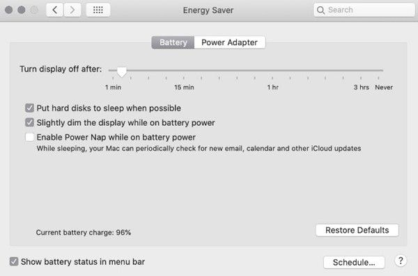 improve battery life on your macbook for macos 11