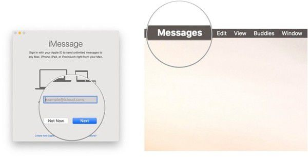 use messages with your mac on macos 11