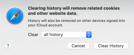 delete safari cached files and cookies on macos 11