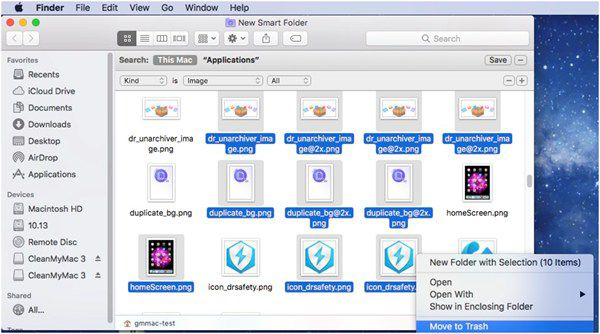 delete duplicate files on macos 11