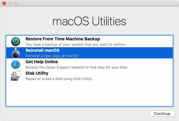 my macbook won't go into recovery mode on macos 11