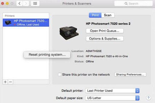 solve scanning problems on macos 11