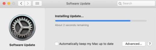 fix a frozen mac update on macos 11