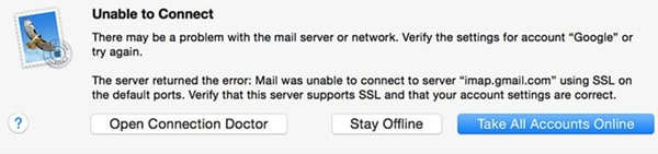 common issue with apple mail on macos 11
