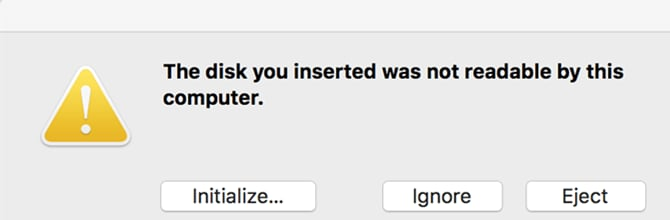 drive format rejection