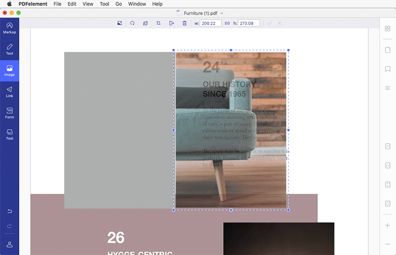 edit pdf images on mac
