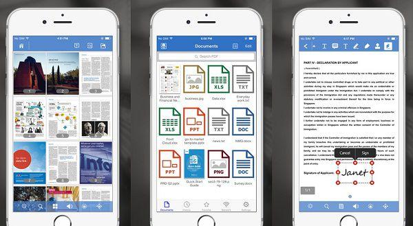 pdf Datei app öffnen