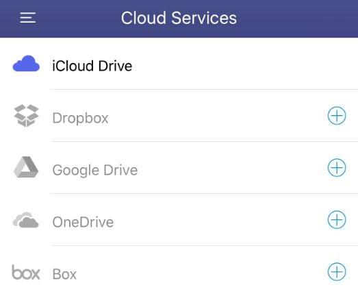 pdf über die Cloud auf das iphone übertragen