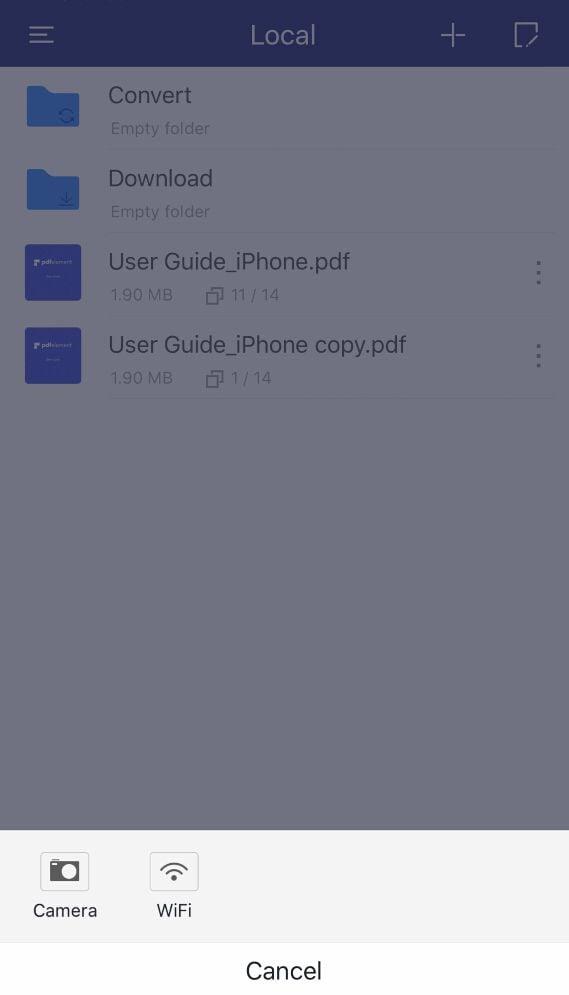 scannear para pdf iOS 10